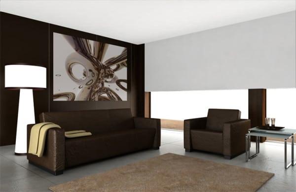 tableau abstrait design izoa