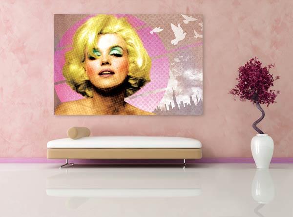 tableaux izoa Marylin Monroe