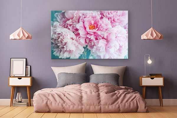 toile-décoration fleur-declaration