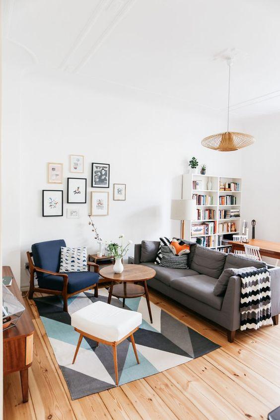 décoration salon scandinave