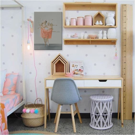dcoration chambre fille moderne
