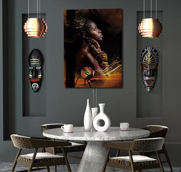 tableau africain Izoa déco ethnique
