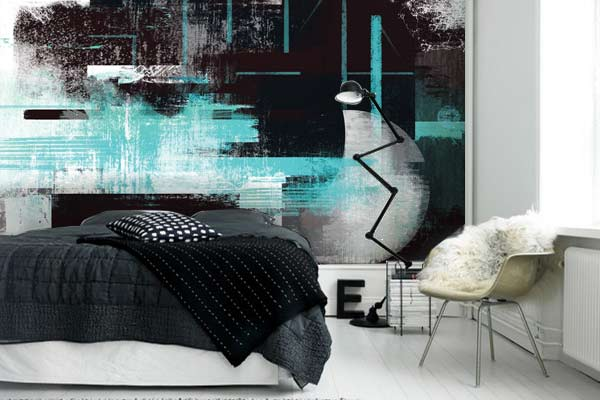 cadre d co abstrait et poster mural eclipse blog izoa. Black Bedroom Furniture Sets. Home Design Ideas