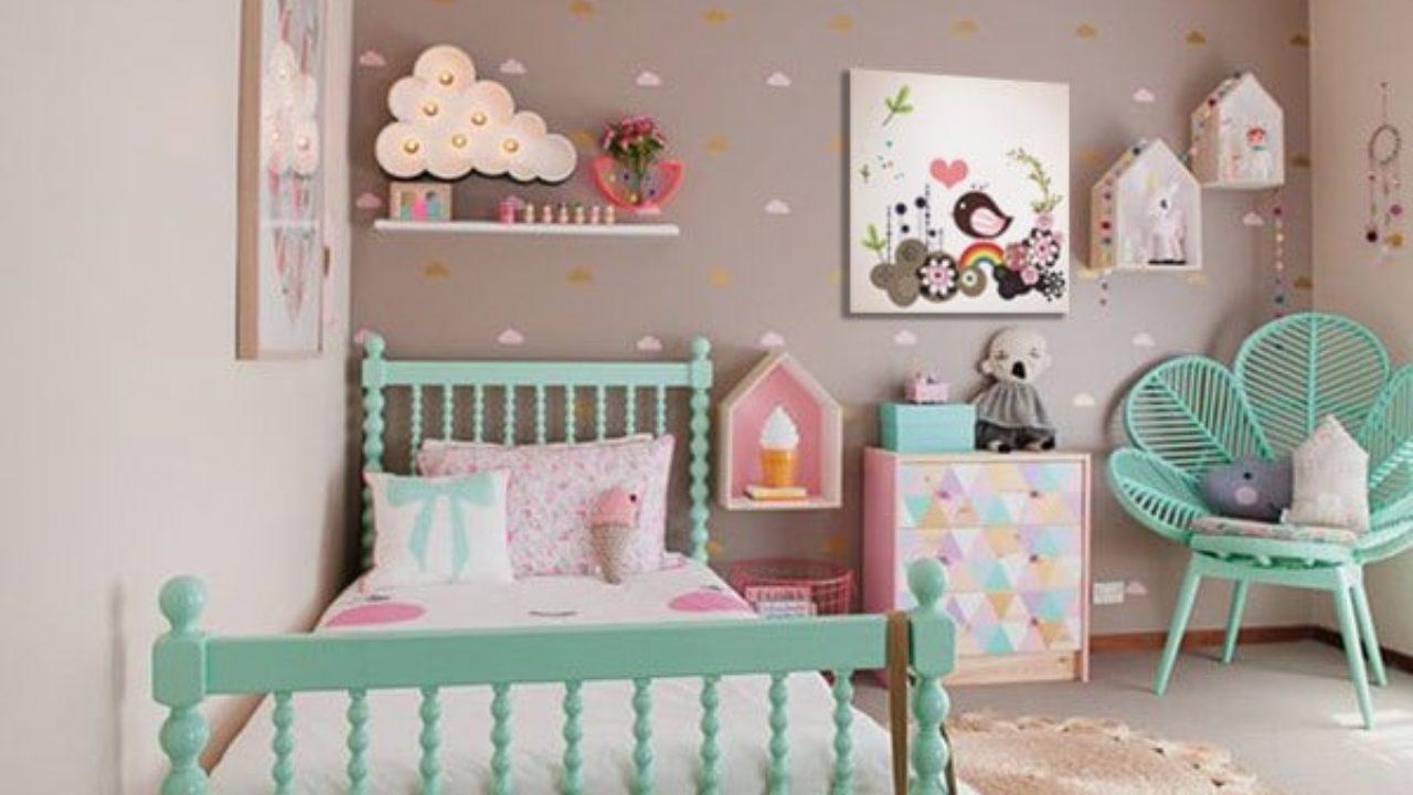 Chambre Rose Poudré Fille idée déco pour décoration chambre fille - blog izoa