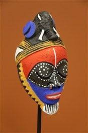 masque africain décoration afrique
