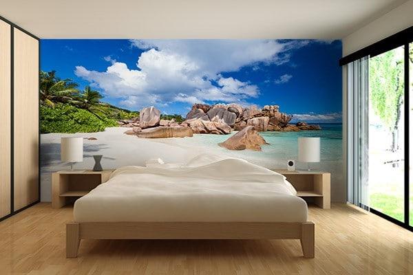 poster mural ile paradisiaque