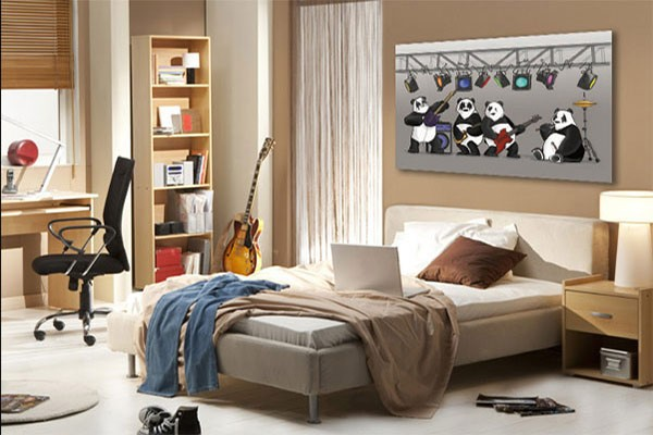 tableau pour décoration chambre ado