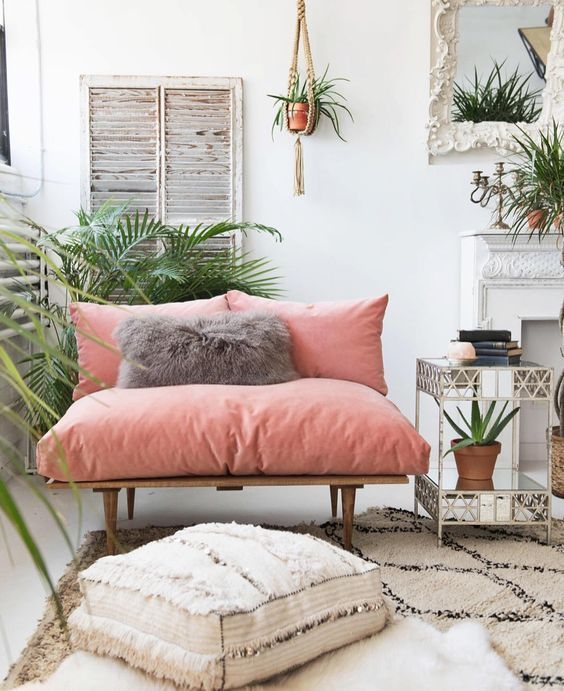 Décoration boho scandinave