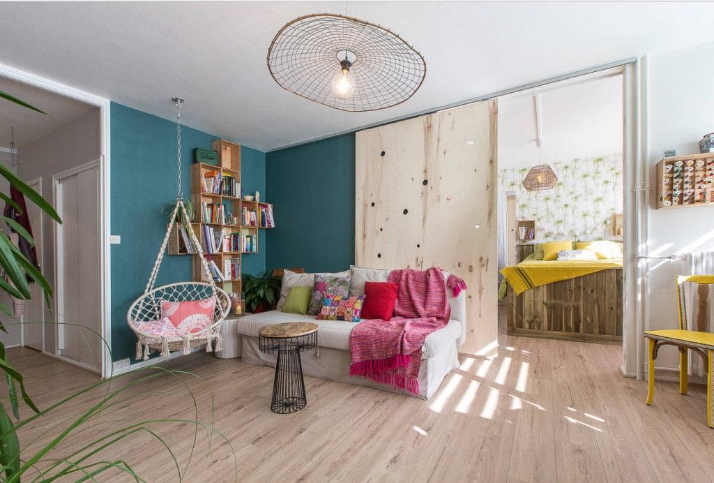 Salon après intervention décoratrice Espace d'envie