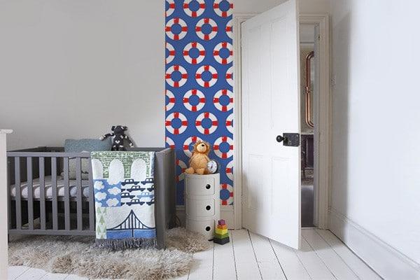 décoration chambre bébé thème marin