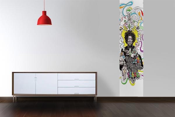 papier peint intissé Hendrix