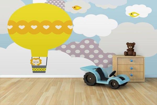 poster mural chambre bébé