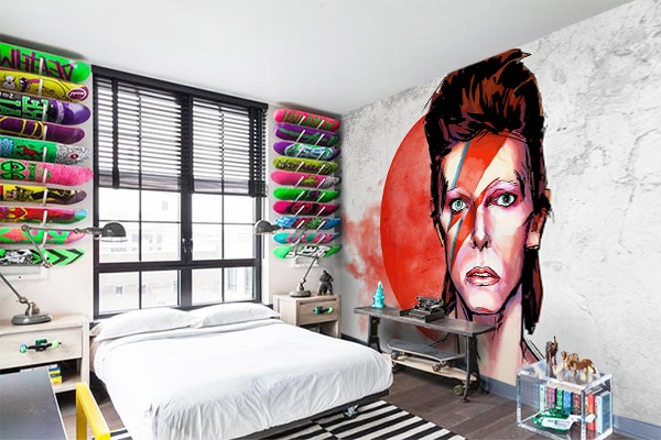 Décoration murale poster David Bowie