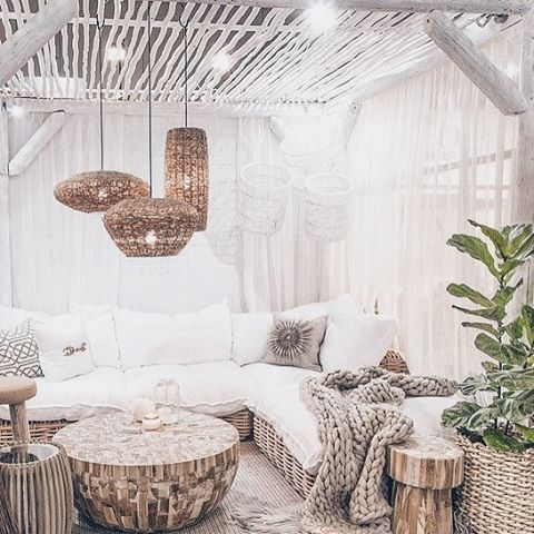 décoration salon rustique image pinterest