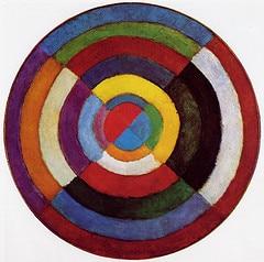 """""""Disque simultané"""", Robert Delaunay - 1912/1913"""