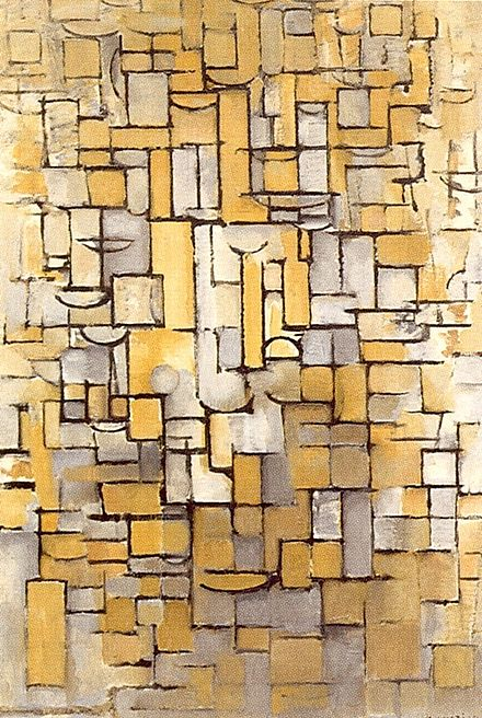"""Composition XIV"", Mondrian - 1913"