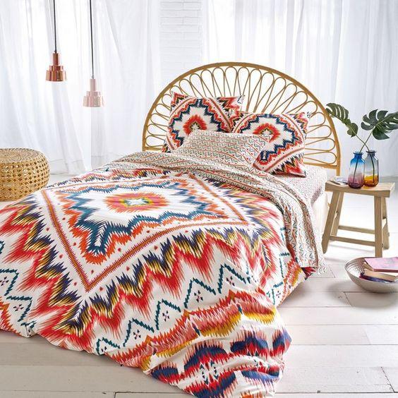 linge de lit déco amérique latine
