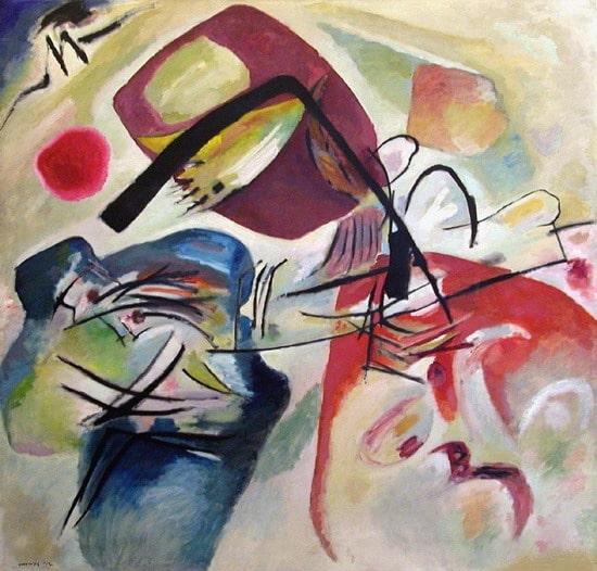 """L'arc noir"", Vassily Kandinsky - 1912"