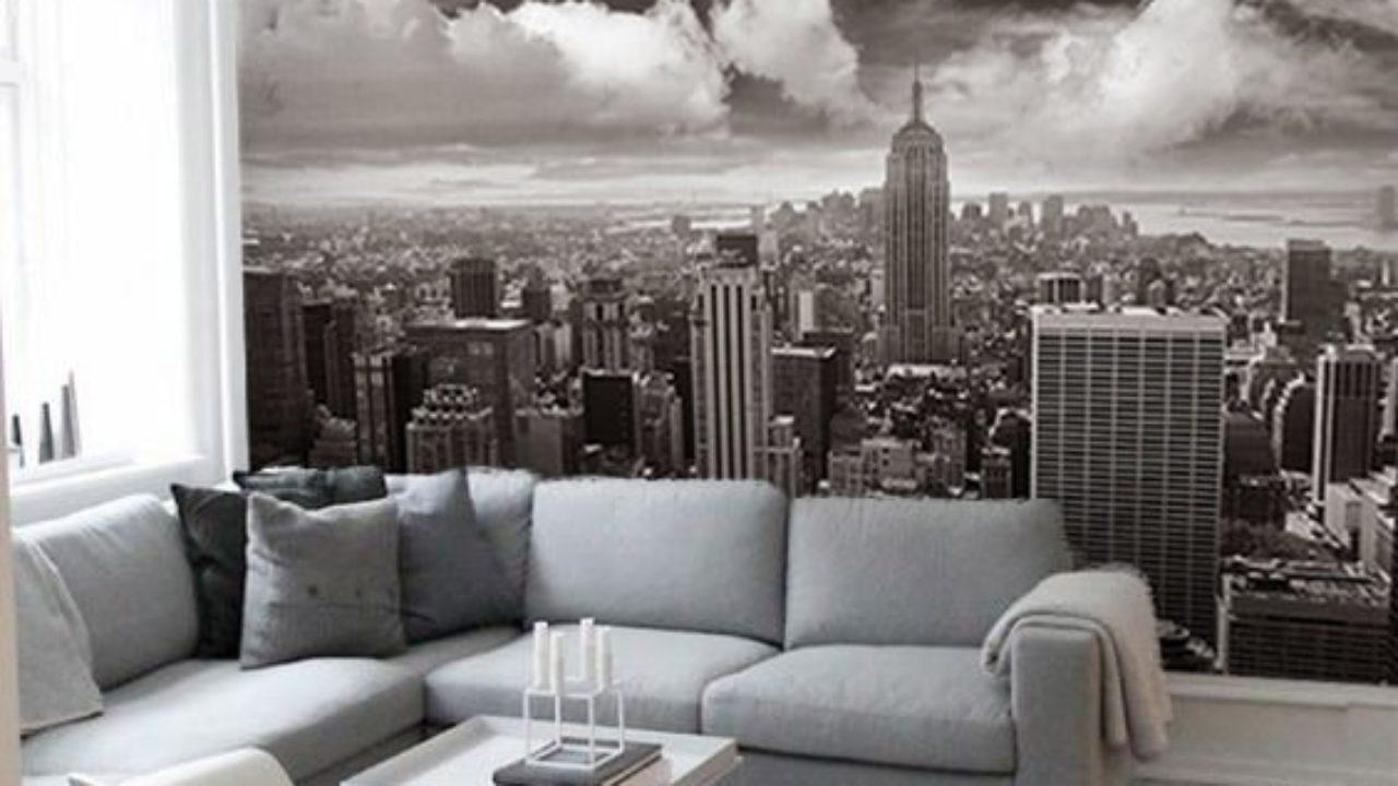 Papier Peint Style Atelier un papier peint chambre new york pour une ambiance new