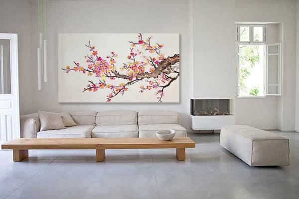 tableau toile zen grand format izoa