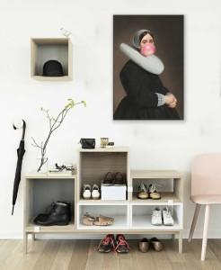 tableau deco-design-pour-décoration-couloir