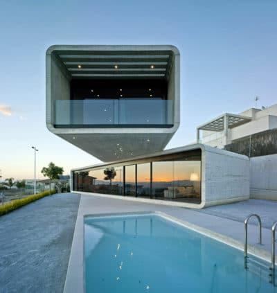 Maison architecte cubique