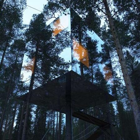 hotel dans la nature
