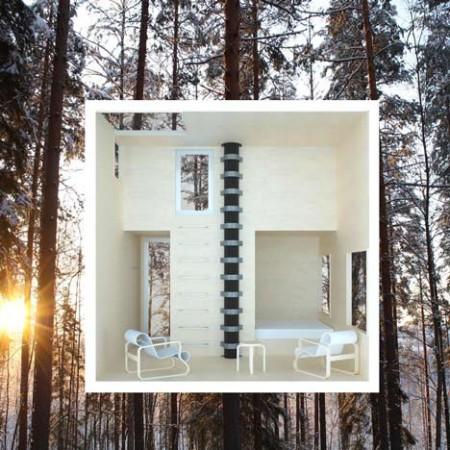Tree hotel intérieur