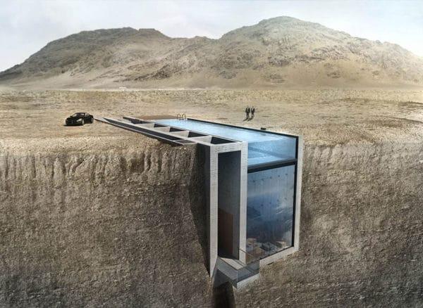 architecture maison brutalise