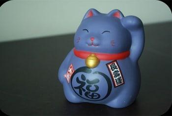 déco japon chat porte bonheur