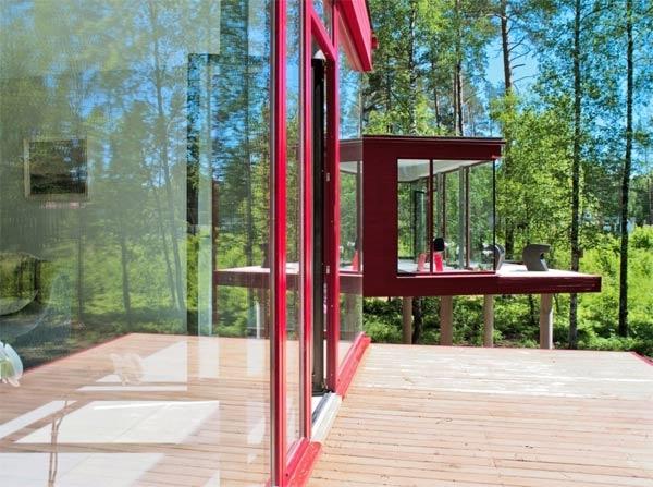 maison baie vitrée