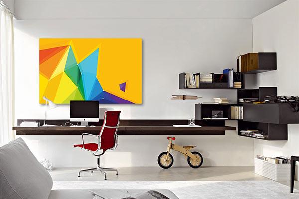 tableau abstrait moderne chokkan