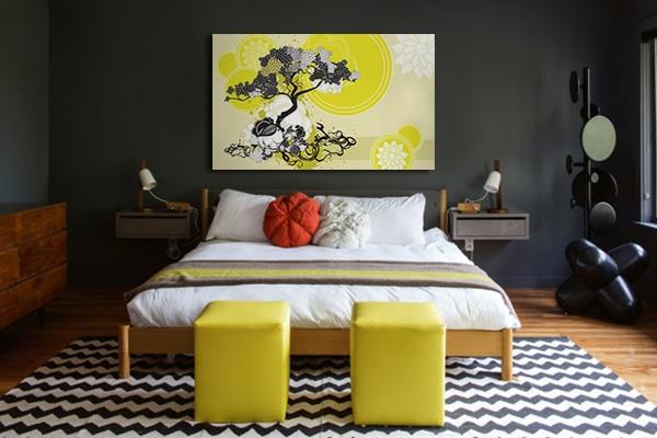 Cadre zen décoration chambre