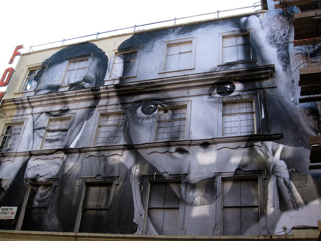Street art par JR