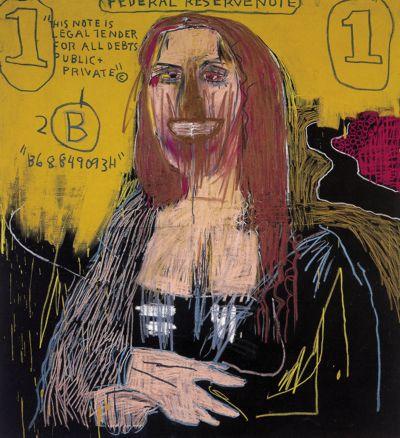Mona lisa par Jean-Michel basquiat – 1983