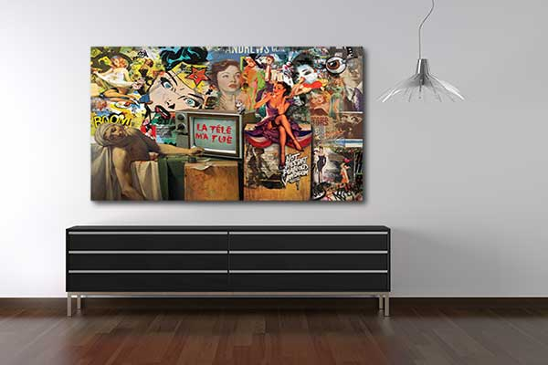 toile street art tv tue
