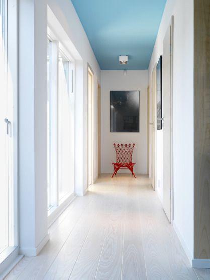déco couloir : peindre son plafond