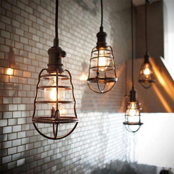 luminaires style industriel vintage