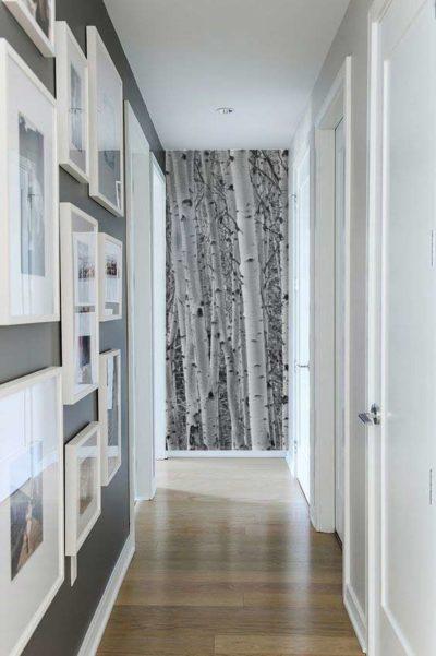 tapisser son couloir papier peint trompe l'oeil couloir
