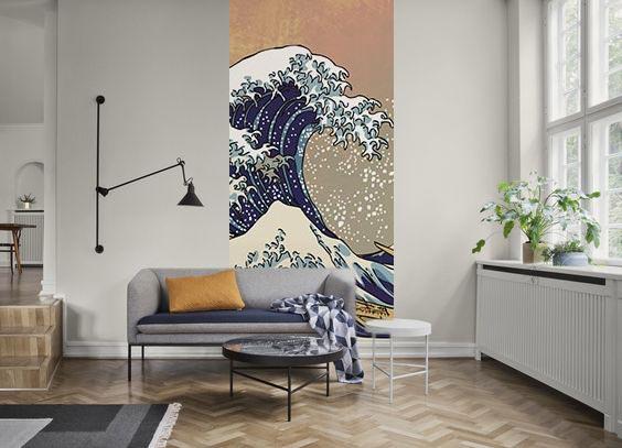 lé-de-papier-peint-déco-salon-japandi