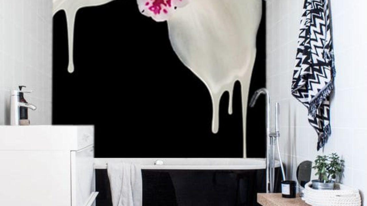 Papier Salle De Bain papier peint salle de bain : inspirations déco - blog izoa