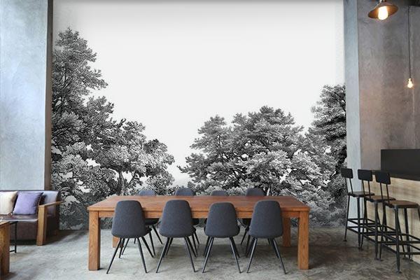 decoration-restaurant-papier-pient-haut-de-gamme-izoa