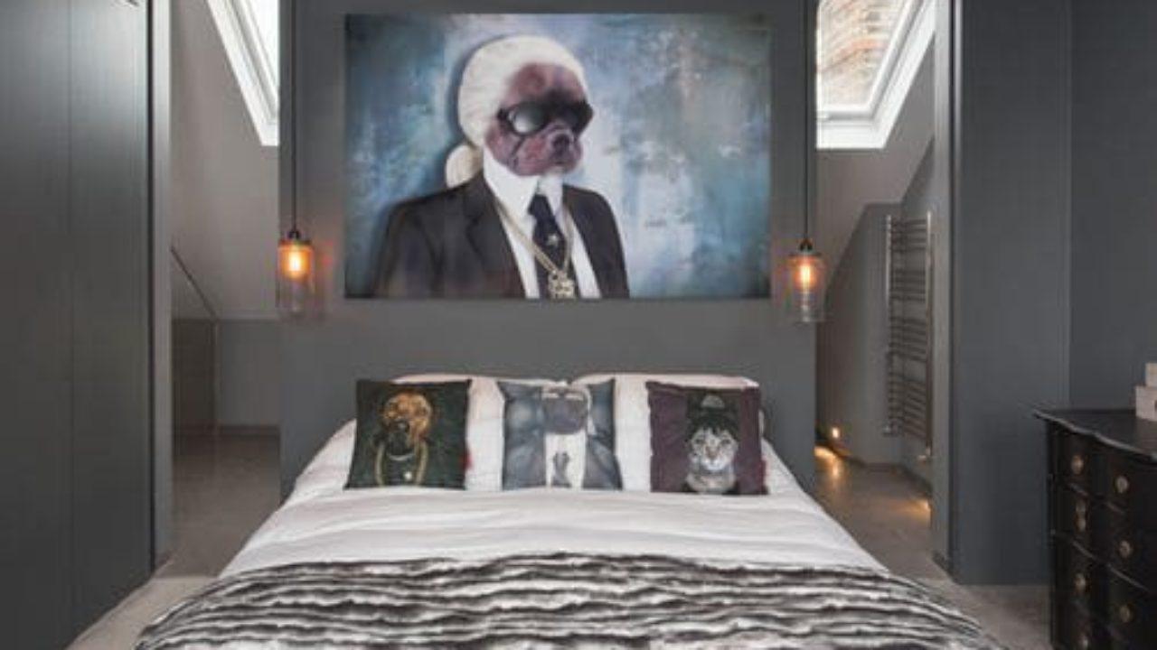 Tapisserie Moderne Pour Chambre Adulte décoration chambre suite parentale : comment délimiter l